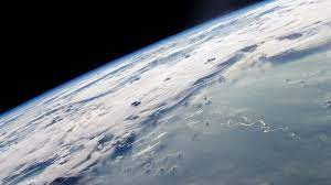 Earth view from space ...