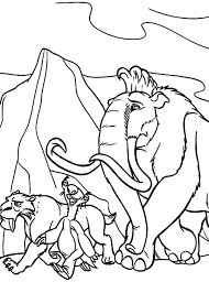 Small Picture How to Draw the Animals of the Ice Age Coloring Pages Batch Coloring