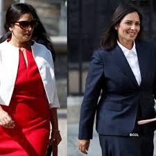 You deserve to look stunning. Meet Britain S First Indian Origin Home Secretary Priti Patel Photogallery Etimes