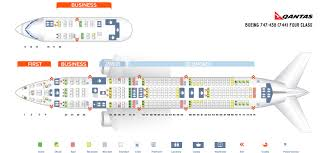 B744 Seating Chart Seat Map Boeing 747 400 Qantas Airways Best Seats In The Plane