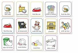 Job Chart Clip Art Job Chart Kids Stuff Tareas Del
