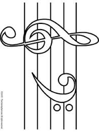 Small Picture Music Coloring Pages Music Notes 2 Free printable coloring