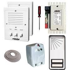alpha communications™ ik543 2s 2 unit apt intercom kit wire 5 wire intercom at Is543 Alpha Wiring Diagram