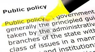 opinions on public policy