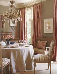 Living Room And Dining Room Colors Traditional Dining Room Pink Curtains Very Classy Decor