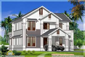 2400 square feet sloped roof house kerala may 2016