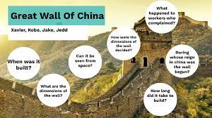 great wall of china by xavier conway