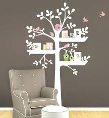 wall decal photo frames tree wall stickers tree in the wind wall decal tree  mural shelving .