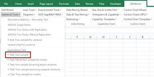 Variance Calculator Excel T Test One Sample Sample Variance ...