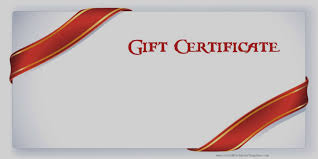 birthday gift certificate template free printable lovely blank gift certificate template free editable and