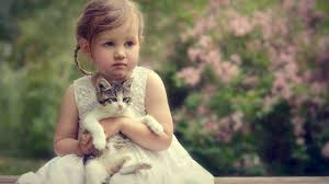 3d Animated Hd Cute Baby Girl And Kiccen Wallpapers Download
