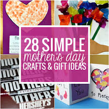 28 simple mother s day crafts and gift ideas