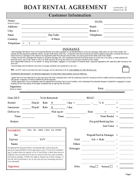 Boat Lease Agreement Template 16 Sample Lease Agreement Forms Sample ...