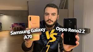Oppo Reno 2Z vs Galaxy A70 karşılaştırma - ShiftDelete.Net