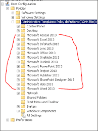 Access 2013 Templates Question How To Install Office 2013 Administrative Template Files