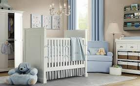 baby boy furniture nursery. subtle light blue curtains armchair and bedding complement beige walls white painted baby boy furniture nursery b