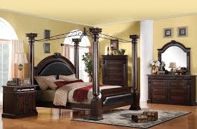 Canopy Bed Crown Molding Wooden Canopy Bed For Tropical Vacation Bedroom Solid Wood Queen