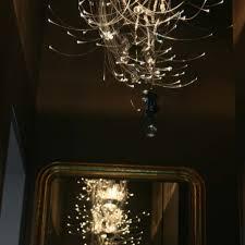 fiber optic chandelier isa moss lighting designer home designer paris