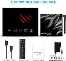pendoo Android TV Box 10.0 4GB RAM 64GB ROM, X11 PRO TV: Amazon.de:  Elektronik