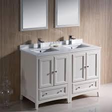 bathroom cabinets double sink. Delicate Antique Double Sink Bathroom Vanities And Cabinets With Light Modern Designs : Glass Artwork Beside