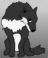 狼 オオカミ イラスト 無料