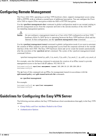 Configuring Easy Vpn Services On The Asa Pdf