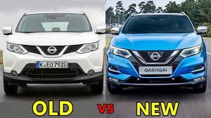 2018 nissan qashqai. perfect 2018 old vs new nissan qashqai inside 2018 nissan qashqai