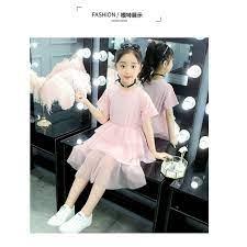 Đầm cho bé 8 tuổi (3 - 12 tuổi) ️ váy công chúa cho bé 5 tuổi ️ thời trang  bé gái lớn 10 tuổi 20-25-30-35-40-45kg giá cạnh tranh