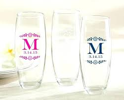 personalized plastic champagne flutes bulk unusual crystal wedding glasses bling engraved toasting amp for less