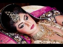 stani bridal makeup and hairstyle tutorial in urdu 2016 by elizabeth