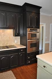Painted Black Kitchen Cabinets Kitchen Black Kitchen Cabinets With Cool Paint Kitchen Cabinets