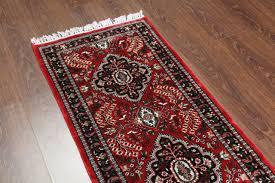 rugsville silk kashmir carpet hand knotted red rug 21431 2x6 rugsville ping great deals on hand knotted rug rugsville in