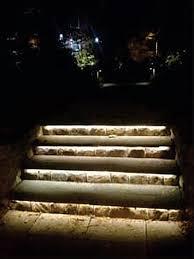 lighting steps. led tape light need outdoorwaterproof kind lighting steps e