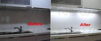 kitchen led under cabinet lighting. Appealing Under Cabinet Light Switch And 15w Pir Aluminium Led Baraluminium Profile Bar Kit Kitchen Lighting T