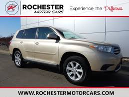 Used Toyota Highlander Rochester MN