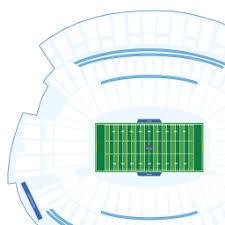 Paul Brown Stadium Seating Chart Fresh Metlife Stadium 3d