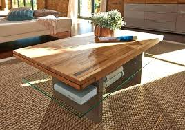 glass and oak coffee table com solid white full size