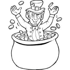 st pattys day coloring pages