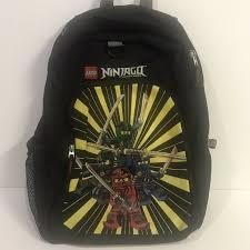 LEGO Ninjago Spinjitzu Golden Ninja Basic Heritage 16in Backpack for sale  online