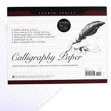 Studio Series Calligraphy Paper Pad 50 Sheets Peter Pauper