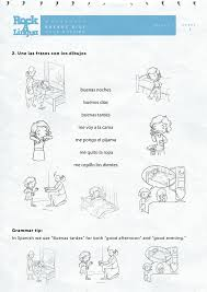 Greetings and daily routines   Worksheet   Rockalingua   Learning ...