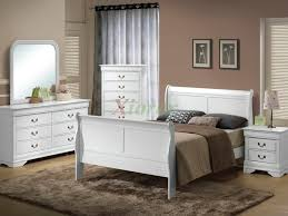White Bedroom  Distressed White Bedroom Furniture Cozy Home - Bedroom with white furniture