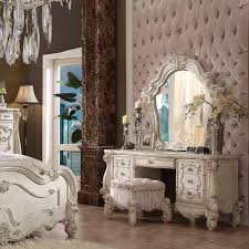 Bone White Vanity Set AC 137 | Bedroom Vanity Sets