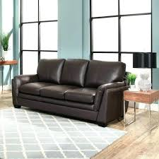 leather sofa brown top grain living sectional abbyson erica