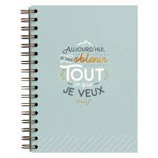 Heft Mr Wonderful 'Aujourd'hui' A5 14,8 ...