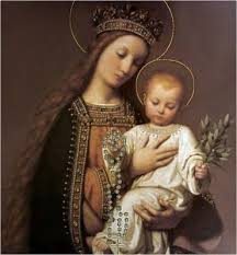 Our Lady, Mary, is truly our Queen because Jesus, her Son, is King. So, by  praying the Holy Rosary, we get Her … | Blessed mother mary, Child jesus,  Mary and jesus