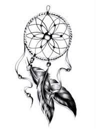 Dream Catcher Outline 100 Mysterious Dream catcher Tattoos Design Dreamcatcher tattoos 43
