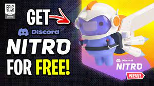 How To Get DISCORD NITRO For FREE On Epic Games! - YouTube