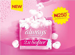 P&G Nigeria introduces <b>new</b> Always <b>Cotton Soft</b> Sanitary Pads