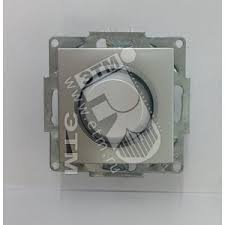 Cosmo <b>Диммер поворотный</b> 800 Вт с подсветкой алюминий (619 ...